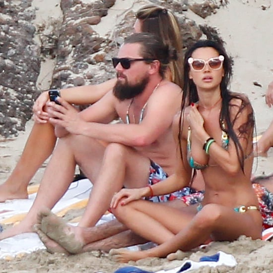 Leonardo DiCaprio Shirtless in St. Barts Pictures