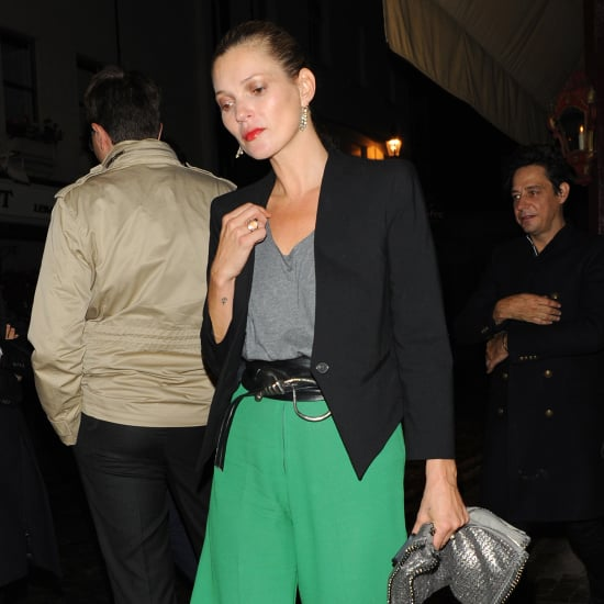 Kate Moss Wearing Green Pants