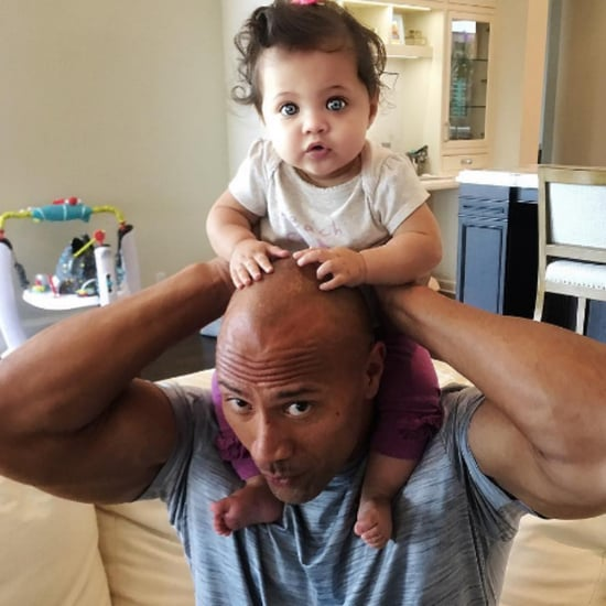 Pictures of Dwayne Johnson's Daughter Jasmine