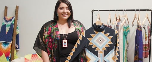 Native American Fashion Designer Bethany Yellowtail Video