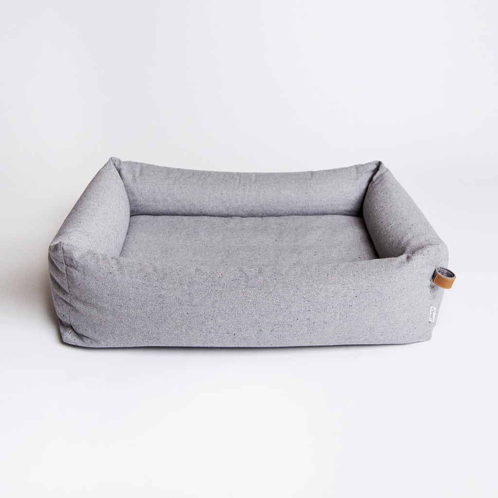 clean simple and impeccably made the sleepy tweed grey bed 247 the most stylish dog beds. Black Bedroom Furniture Sets. Home Design Ideas