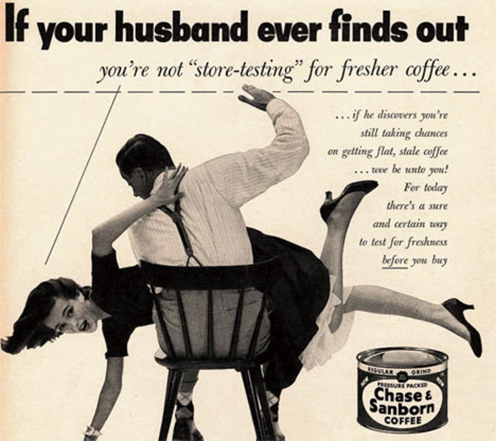 Vintage Coffee Ads For Women