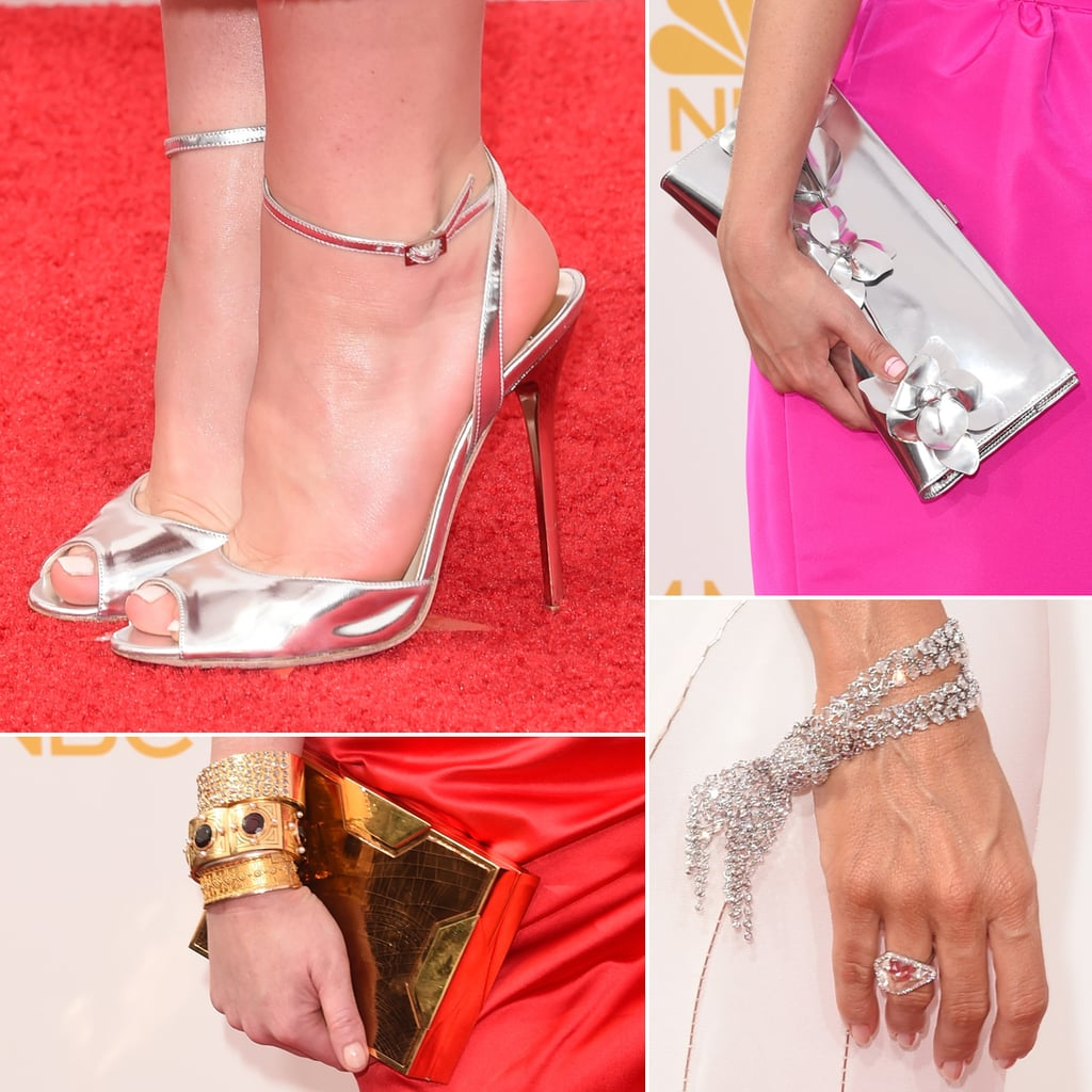 Shoes and Jewelry at Emmys 2014