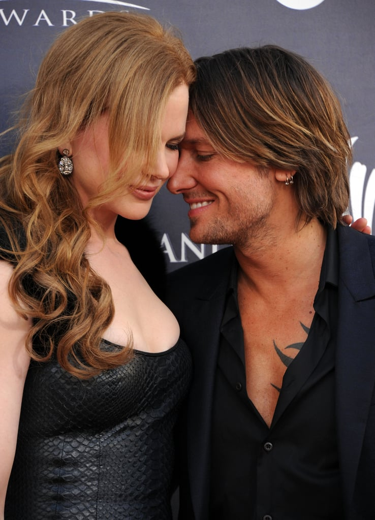 Super-sweet moment at the 2011 Academy of Country Music Awards.