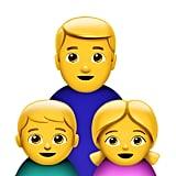 Single-Dad Family
