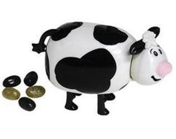 Product of the Day: Oopsie-Daisy Cow Jelly Bean Dispenser