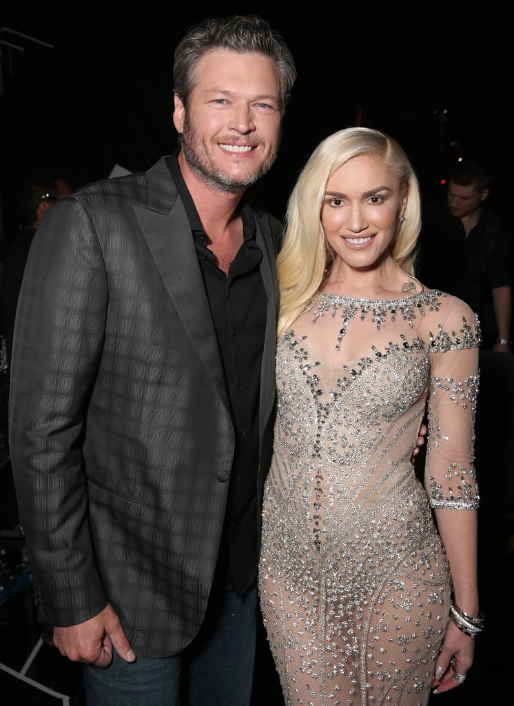 """Fans were in for quite the surprise last year when news broke that Gwen Stefani and Blake Shelton were officially dating, and ever since then, the two stars have not been shy about flaunting their love. Not only has the pair already made their red carpet debut as a couple, but they even have a song together on Blake's new album, titled """"Go Ahead and Break My Heart."""" Most recently, Gwen credited Blake for helping her get through her dramatic year, saying, """"When you're going through a really tough time, there are people that come in your life, like a friend that can help you get through things, and he's definitely one of those people. That's it."""" In honour of the duo's budding romance, we've rounded up the sweetest things they've said about one another. Read on to see them now, then check out 24 snaps that prove Gwen's brood is the coolest family on the block."""