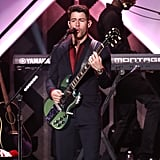 Nick Jonas at iHeartRadio's Jingle Ball in NYC