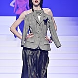 Sarah Brannon on the Jean-Paul Gaultier Runway