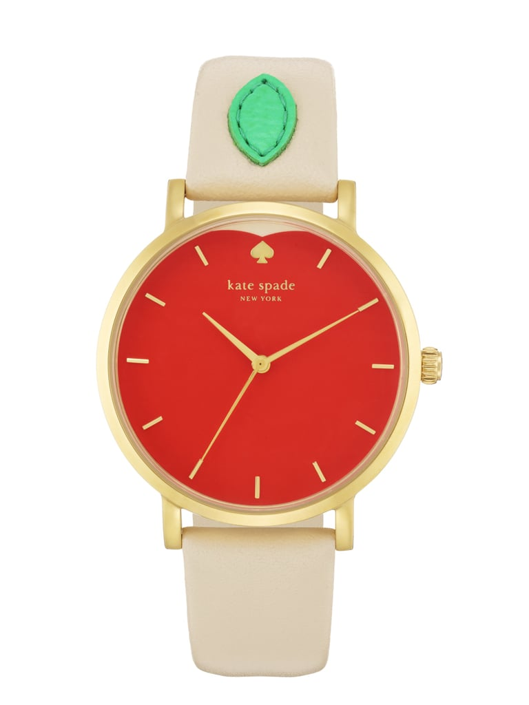 In the city that never sleeps, keeping track of time ($175) is extra important.  Photo courtesy of Kate Spade New York