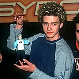 JT hangs with his puppet.