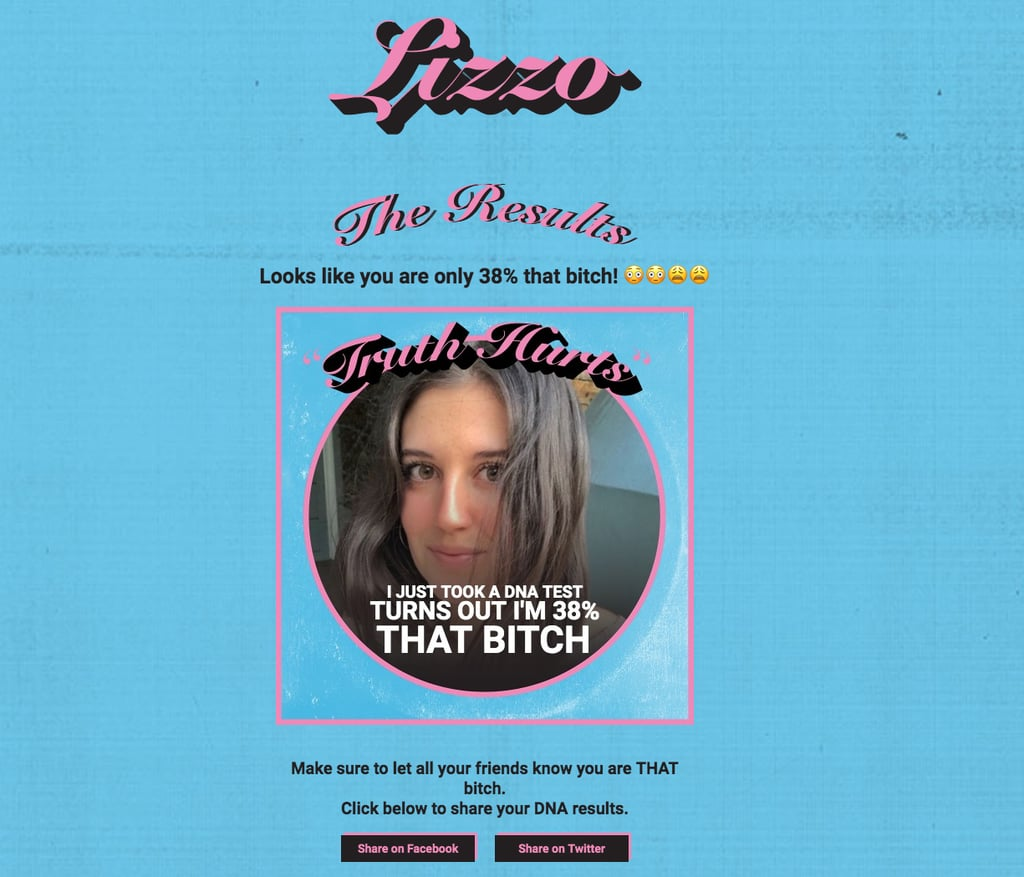 Finish Lizzo's Quiz and Assess Your Newly Claimed DNA