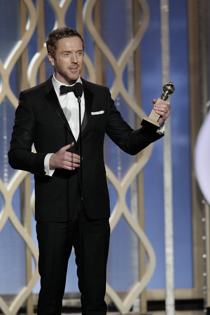 Damian Lewis Is a Mamma's Boy