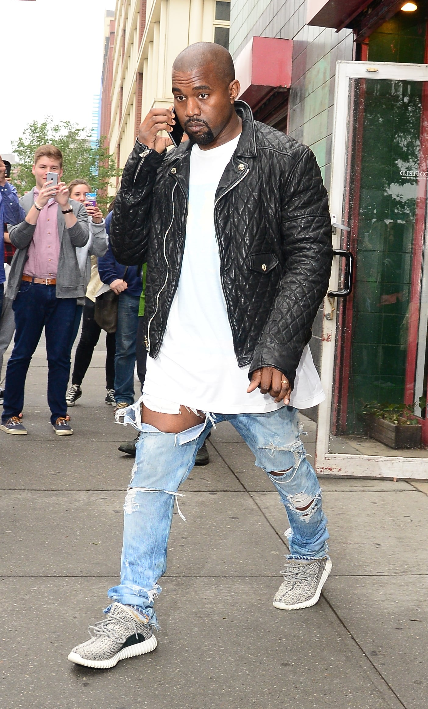 yeezy ripped jeans