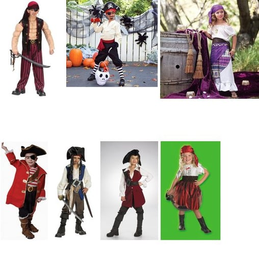 Timeless Sibling Themes For Halloween: Swashbuckling Pirates