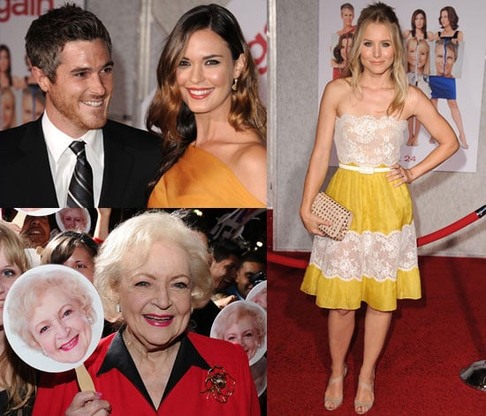 Kristen Bell, Odette Yustman, Betty White, Jamie Lee Curtis, Sigourney Weaver at You Again Premiere