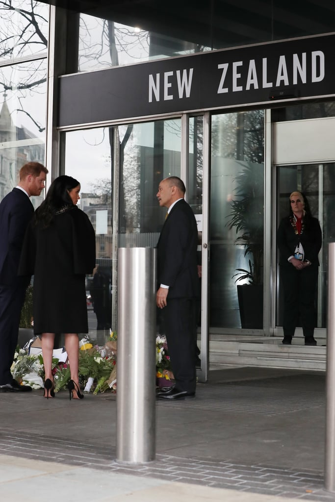 Harry and Meghan Visit New Zealand House March 2019