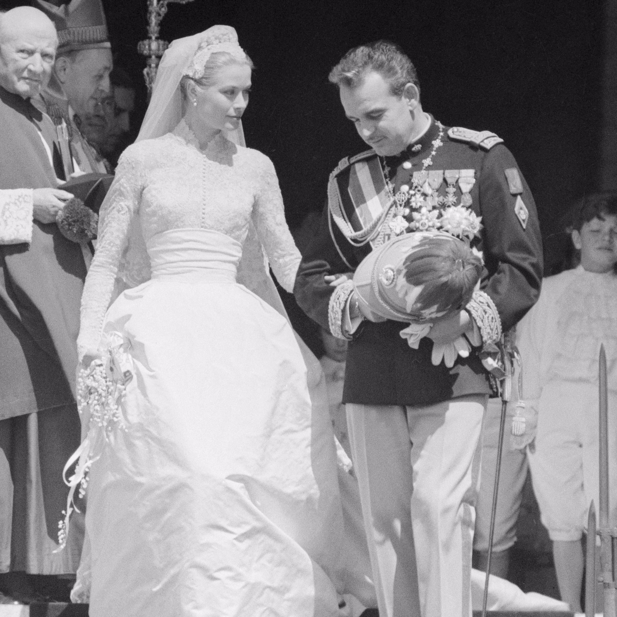 Grace Kelly Wedding Facts Popsugar Celebrity