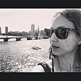 Troian Bellisario jetted off to London after wrapping up filming on Pretty Little Liars. Source: Instagram user sleepinthegardn