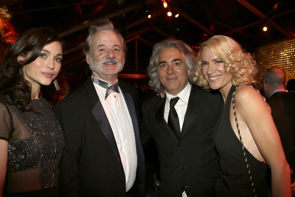 Bill Murray smiled with Kelly Lynch and company at the Weinstein afterparty.