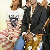 Sitting Front Row Wearing Loewe