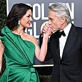 Pictured: Catherine Zeta-Jones and Michael Douglas