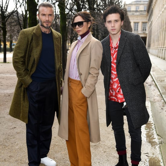 The Beckham Family at Paris Fashion Week 2018