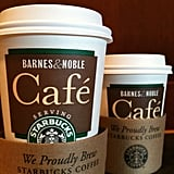 The first store to have a cafe and serve Starbucks coffee opened in 1993.