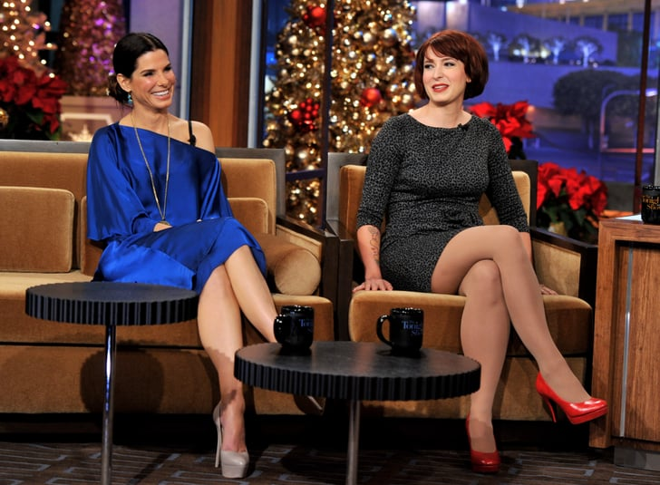 Diablo Cody Made Sandra Bullock Laugh Out Loud On A Late