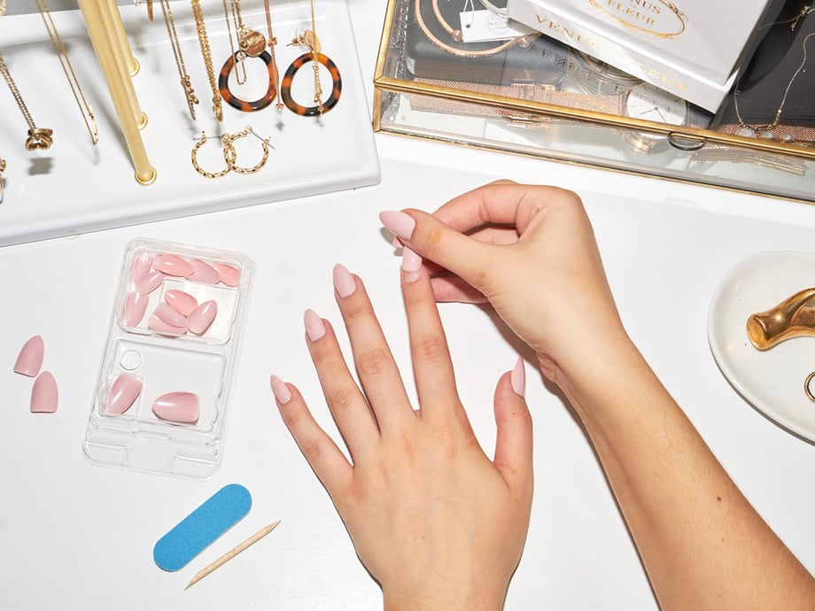 How to Apply Press-On Nails and Make Them Last
