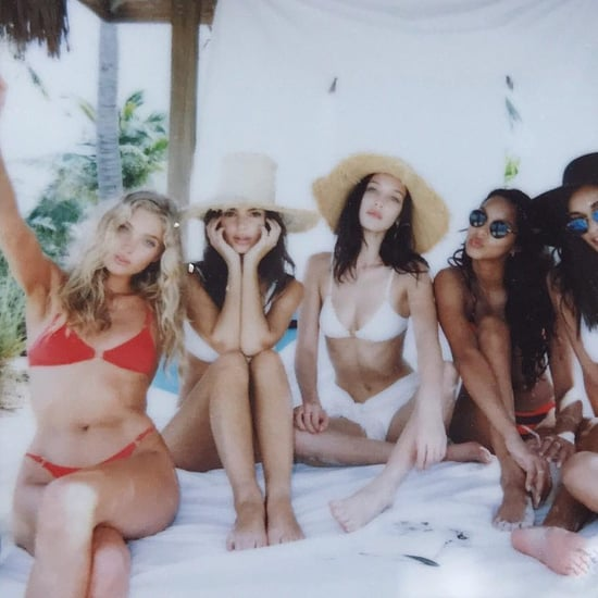 Models Wearing Triangle Bikinis in Bahamas 2016