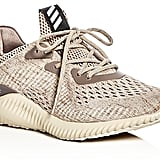 Adidas Alphabounce Engineered Mesh Lace-Up Sneakers