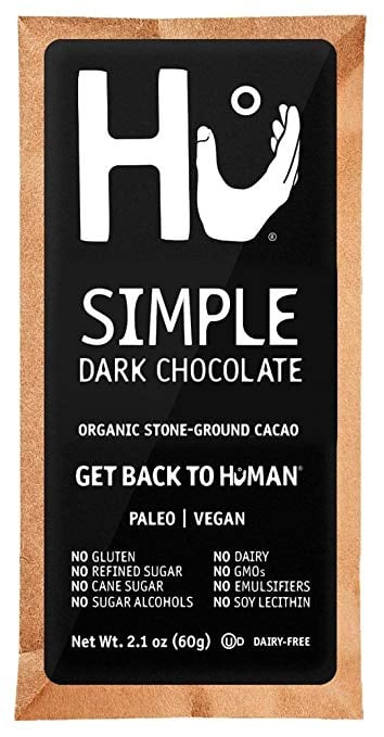 Hu Simple Dark Chocolate Bar