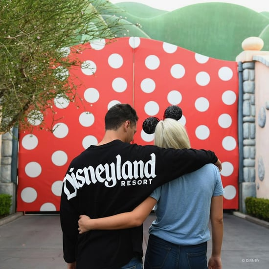 Disneyland Minnie Mouse Wall in Toontown