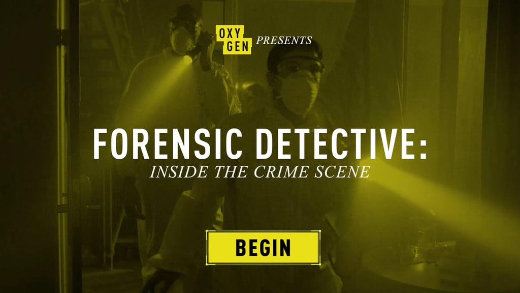 Forensic Detective: Inside the Crime Scene