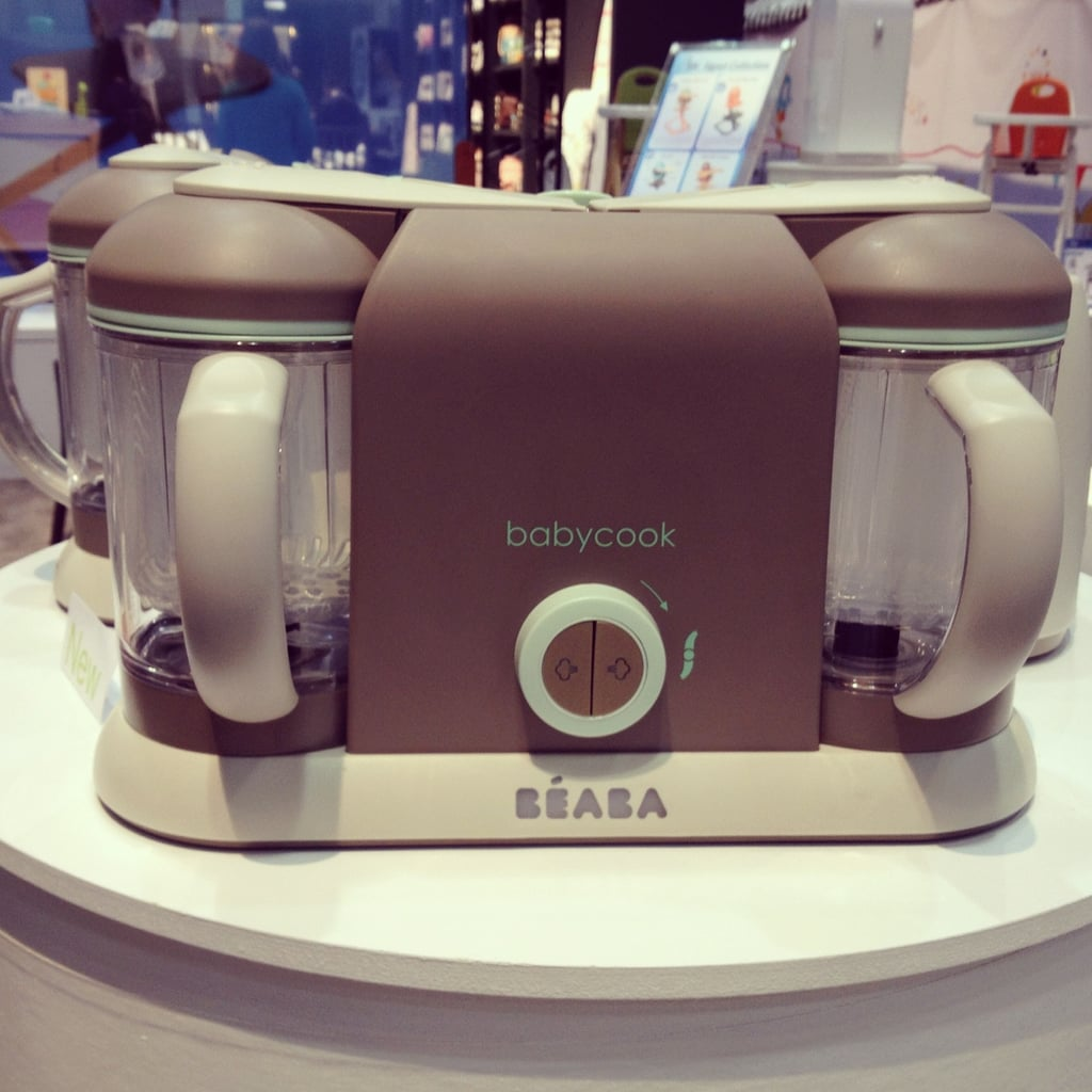 Béaba will introduce a new pro-line, including the Pro 2X, which allows for baby food cooking on two sides (though only one side has blending). It will produce up to 9.5 cups of food at a time.
