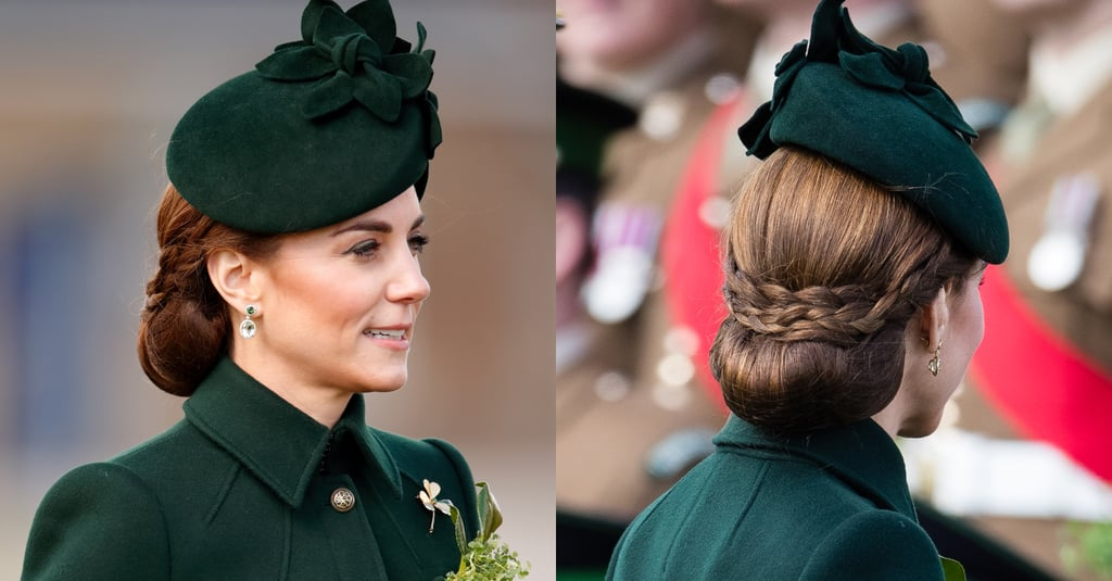 Kate Middleton's Braided Chignon, 2019