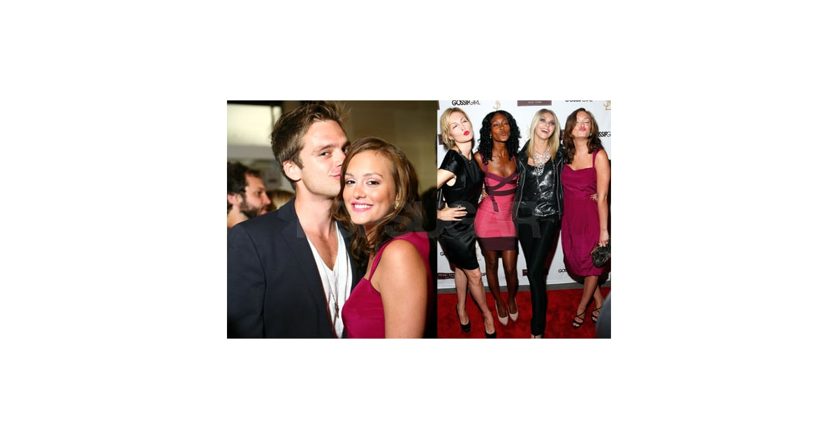 photos of gossip girl cast at season two premiere party at