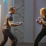 How Brie Trained For Captain Marvel