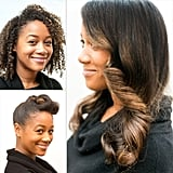 Two Party Styles For Curly Girls