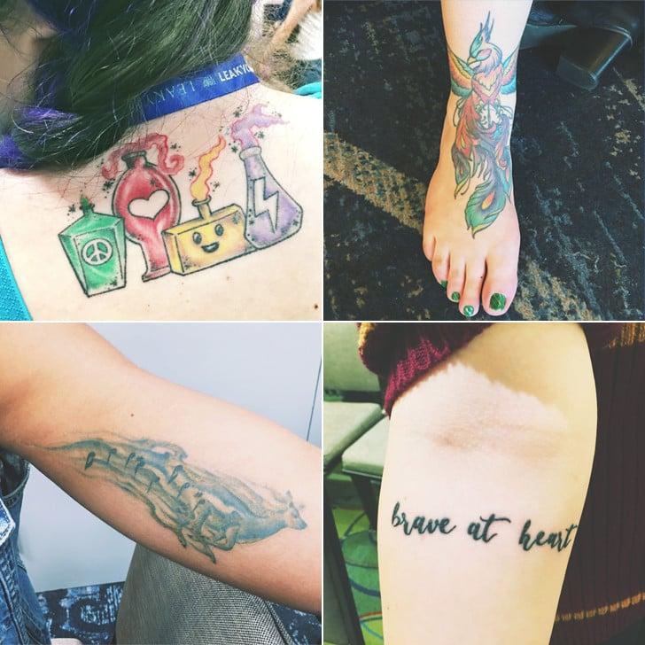 Harry Potter Tattoo Meaning Popsugar Love Sex