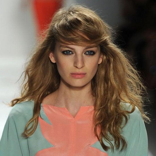 Jill Stuart Spring 2012: Bohemian Hair and Makeup
