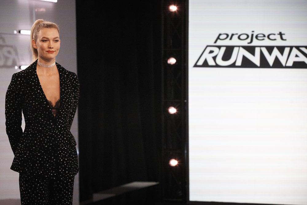 eff385ea5869c Project Runway Episode 9: Karlie's Self-Portrait Suit | Karlie Kloss ...
