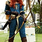 Superhero Merida