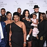 September: She Hosted Her 3rd Annual Diamond Ball With Her Family by Her Side