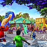 Sesame Place Theme Park Opening in San Diego, California