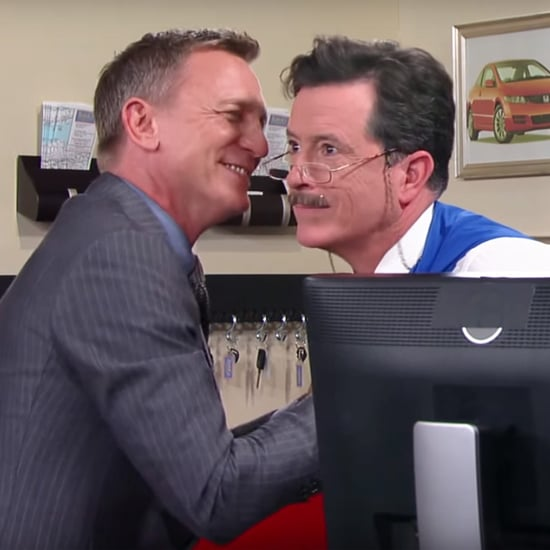 Daniel Craig and Stephen Colbert's Car Rental Sketch