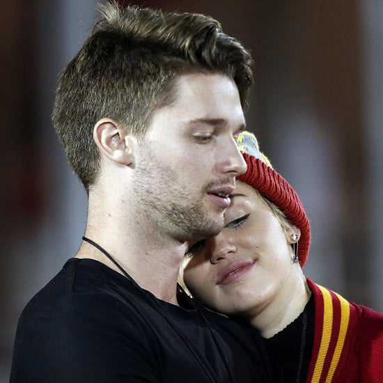 Miley Cyrus Kissing Patrick Schwarzenegger | Photos