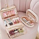 Benefit Gorgeous Hanging Makeup Case and Bag