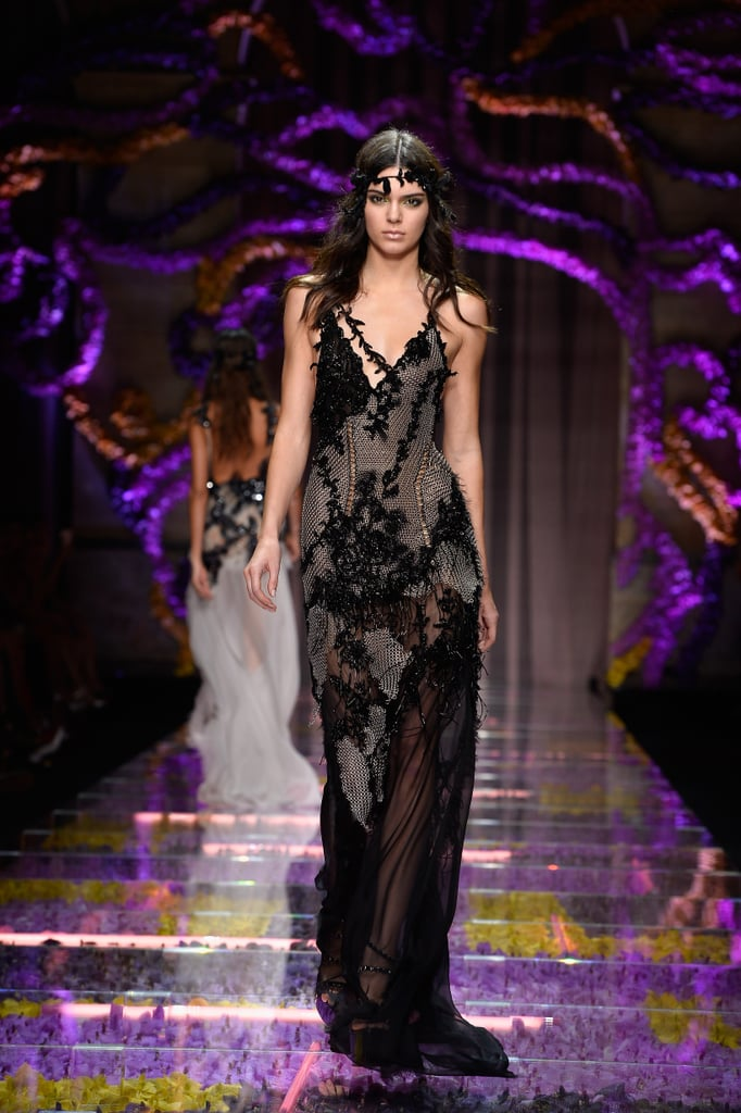 And Kendall Jenner Work a Dark, Romantic Look